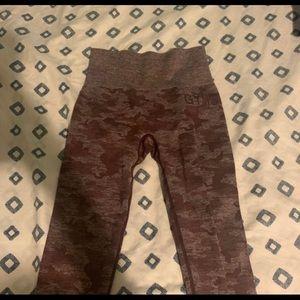 Xs gymshark camo leggings
